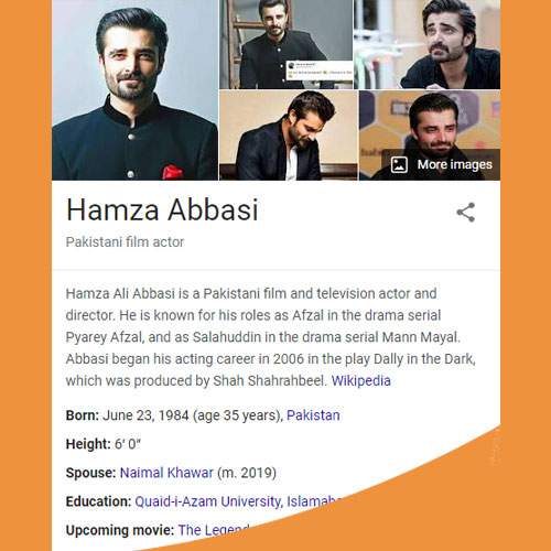 Hamza Ali Abbasi Biography