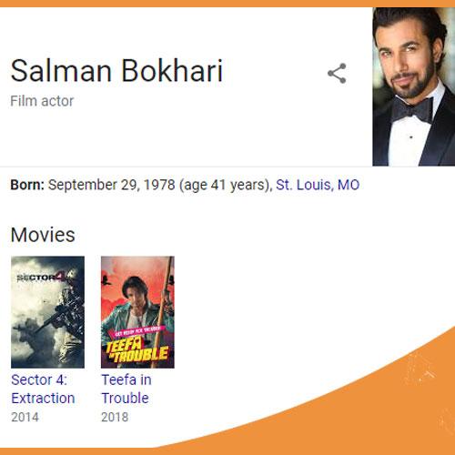 Salman Bokhari Biography