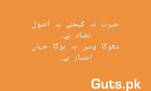 Aitabar Poetry Whatsapp Status in Urdu